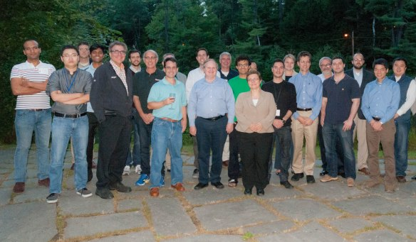 Group photo at the Dartmouth meeting, September 2014
